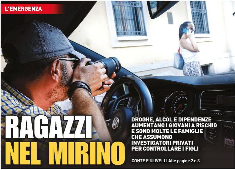 Ragazzi nel mirino - Articolo del 3 Agosto 2019 - La Nazione Firenze